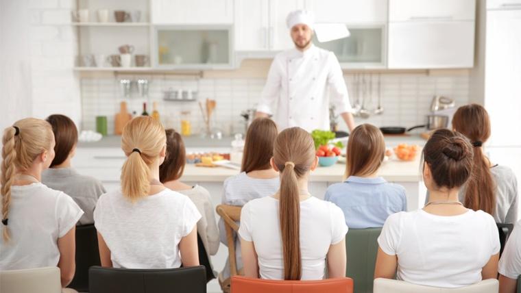 Las ferias vivenciales te ayudarán a encontrar la escuela de cocina adecuada